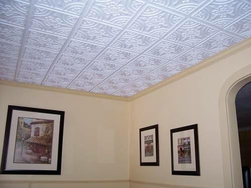 205 Plastic ceiling tiles