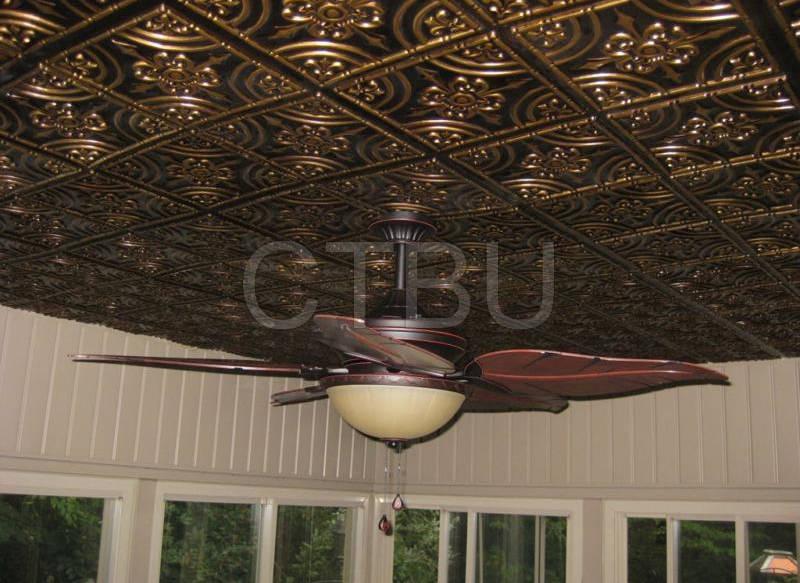 205-antique-gold-ceiling-tiles