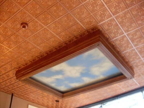 Copper tile #205