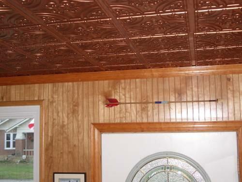 ceiling tiling 205 copper