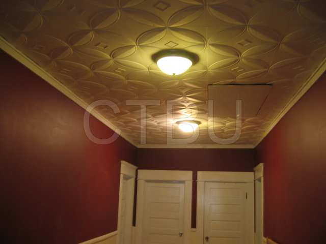 Ceiling Tiles Over Popcorn Ceiling Part - 18: Don\u0027t waste your money removing your popcorn ceiling, just glue our  beautiful