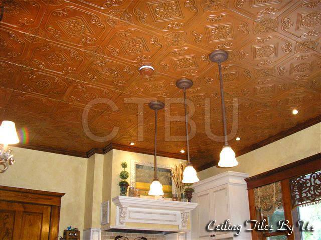 Styrofoam Tiles Installed Ceiling Tiles By Us
