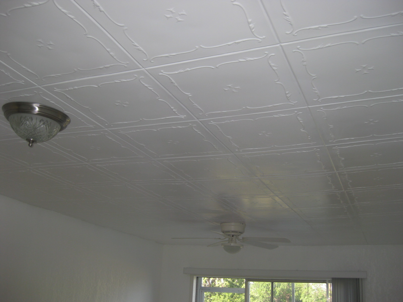 Styrofoam ceiling tiles installed install r 5 dailygadgetfo Gallery