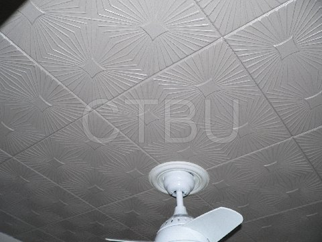 Transform your ceiling with our decorative Styrofoam ceiling tiles.