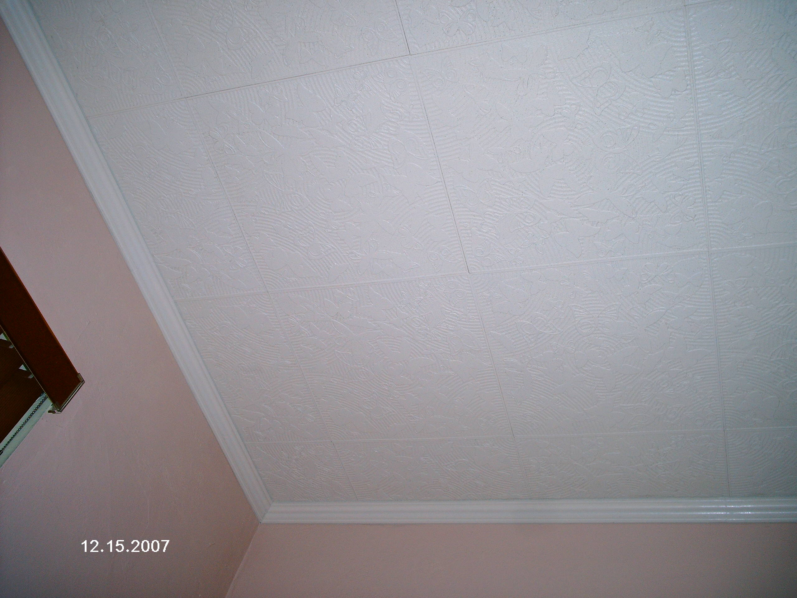 Discontinued ceiling tiles
