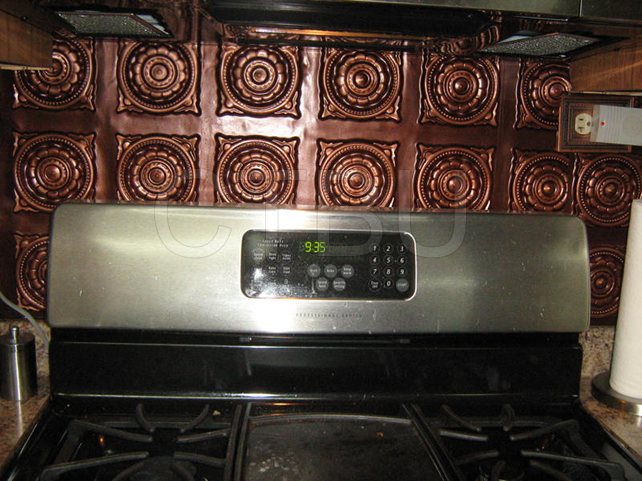 Kitchen Backsplash Installed in Kitchen near Stove Design 128