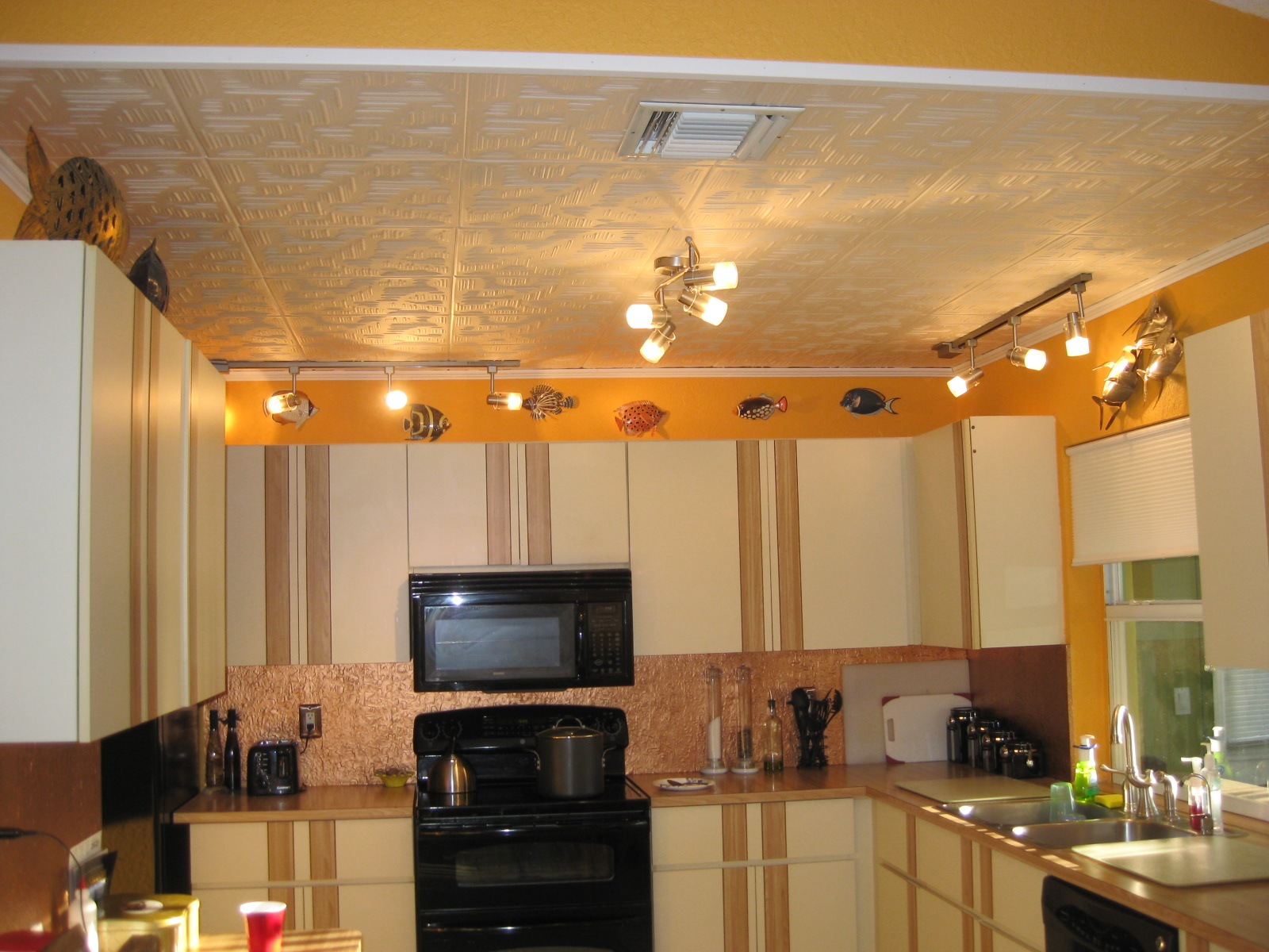 Wall panel using  PVC Backsplash