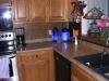 Backsplash Installed in Kitchen near Stove Design