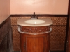 PVC Backsplash for bathroom walls remodeling