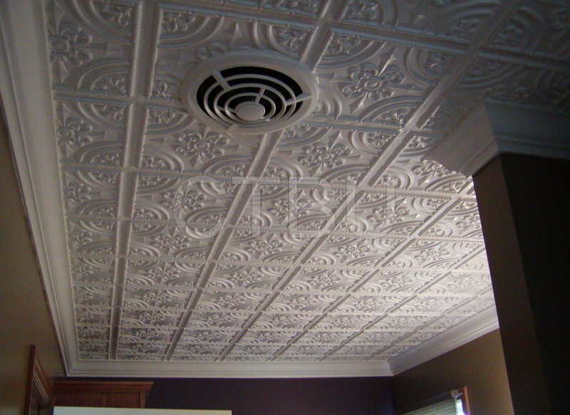Plastic Glue Up Drop In Decorative Ceiling Tiles Ceiling