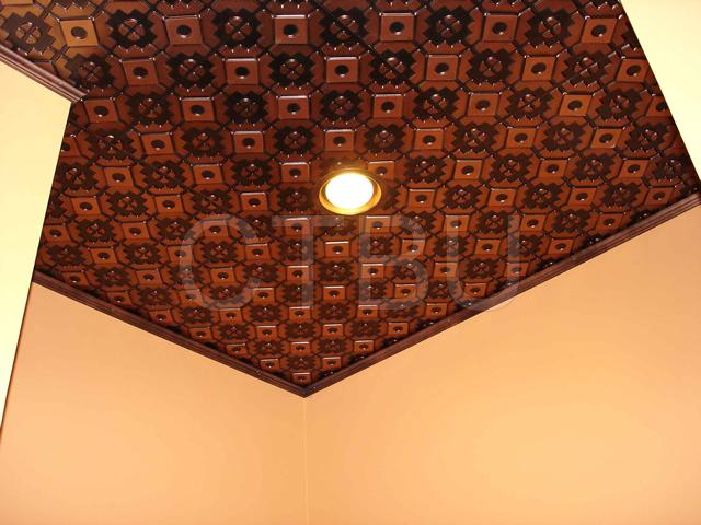 Ceiling tiles plastic