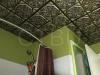 antique-copper-ceiling-tiles-installed-bathroom