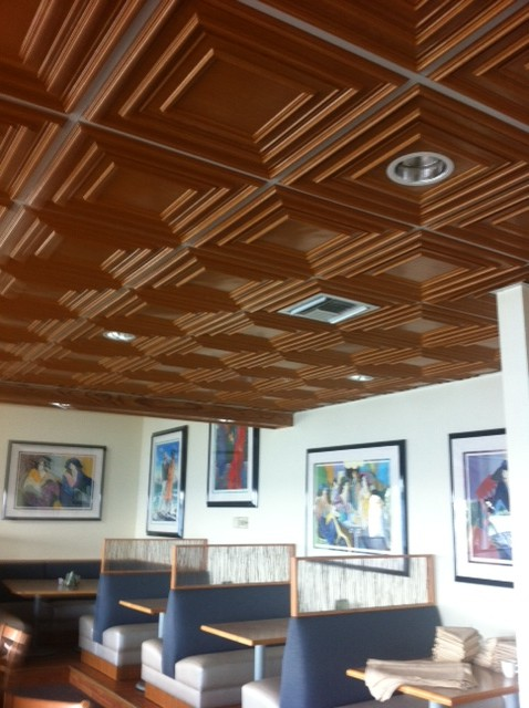Composite Ceiling Tiles : Pvc ceiling tiles grid suspended