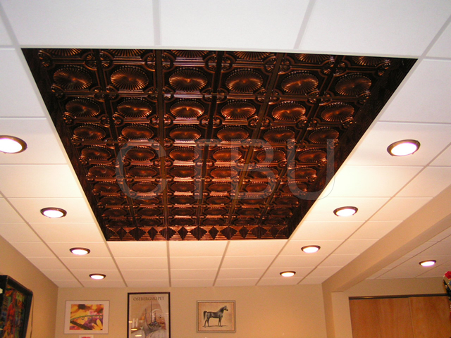 PVC Ceiling Tiles - Grid Suspended