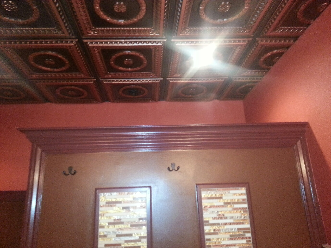 raised centre products tiles bathroom panel ceiling preview