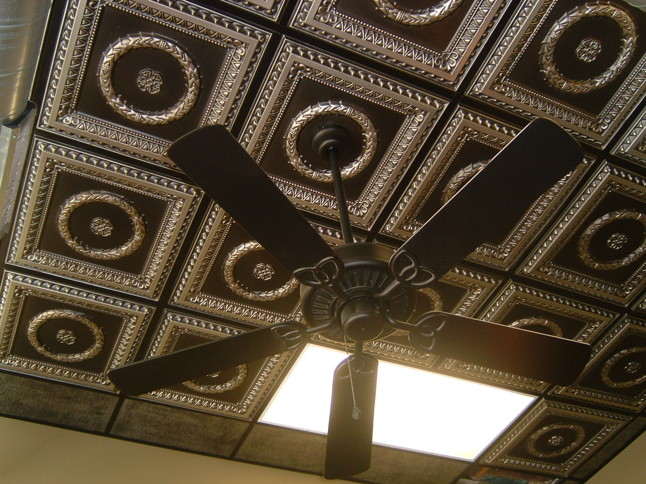 How to install ceiling tile - Design 210 Antique Silver