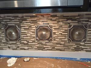 Decorative wall remodeling
