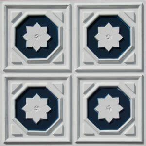 104 White Blue