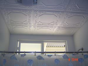 Bathroom Ceiling Tile INSULATION