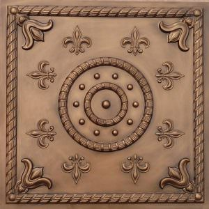 Suspended ceiling tile Antique Copper 12 TILES ONLY in STOCK