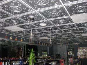 Tin Silver Tiles Install
