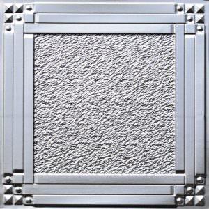 Faux Tin Silver Vinyl