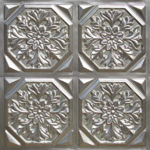 TIN SILVER PVC Ceiling tile