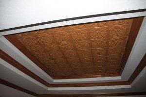 PVC Wood Ceiling Tiles