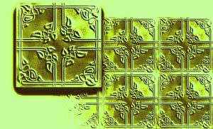 R-37 Pattern of four tiles