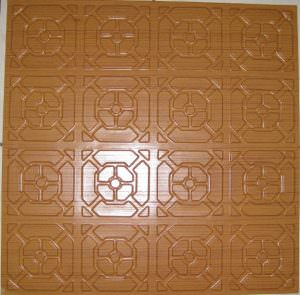 Ceiling Tiles By Us Plastic Ceiling Tile 107 Rose Wood