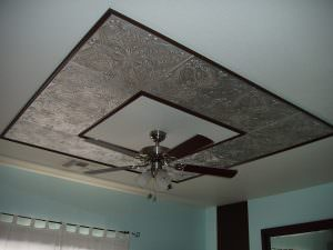 Paintable ceiling tiles