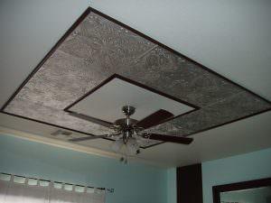 Paintable ceiling tiles