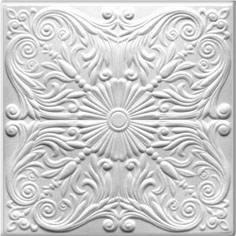Polystyrine ceiling tiles