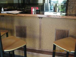 Foot Rest Bar Area