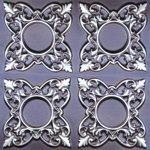 Antique Silver PVC