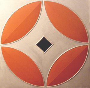 Faux Paintable ceiling tile