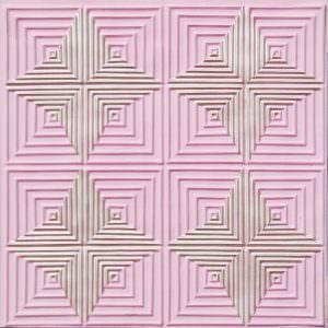 Faux Tin Pink Pearl