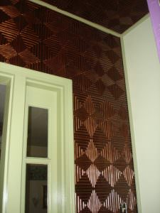 2 x 2 ceiling tiles install