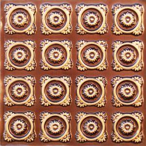 Antique Gold Faux Tin Glue Up