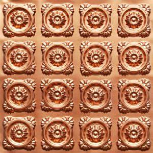 Copper Faux Tin Glue Up