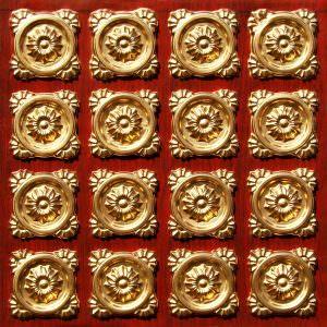 Antique Gold Rosewood Glue Up