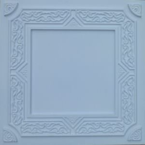 Faux White Matt PVC