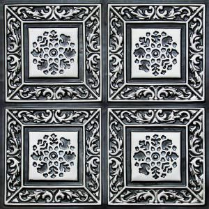 Tin Antique Silver tiles