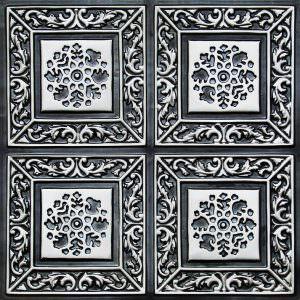 Tin Antique Silver tiles