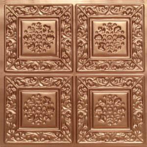 ceiling panels Copper PVC