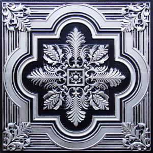 Tin ceiling finishes Antique Silver