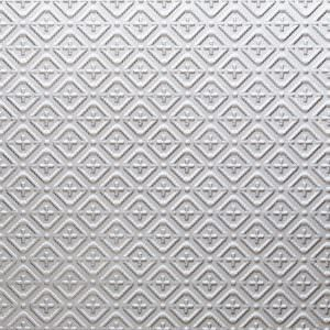 Faux Tin Silver PVC