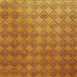 Faux Antique Gold Vinyl