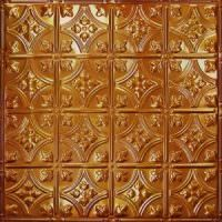 Faux Copper Metal Ceiling Tile