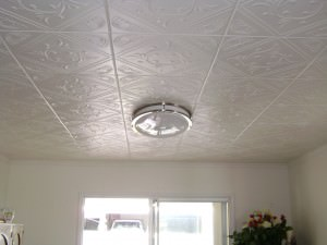 Charming Experience The Difference Washable Ceiling Tiles Have To Offer